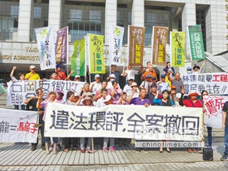 反迫遷自救會 抗議