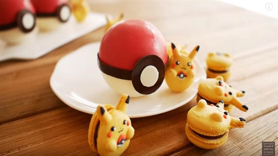 韓國有甜點師將寶可夢熱潮轉移到甜點上,教你做出甜點界的皮卡丘。(圖/翻攝影片)