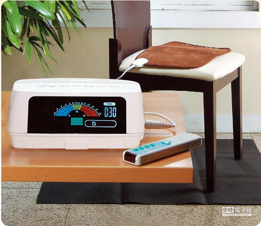 亞星桌上型電位治療器。圖/業者提供