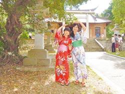 通霄神社七夕祭 体验日本浴衣
