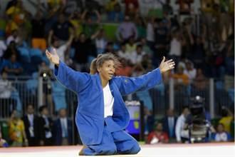里約奧運》出身貧民窟 柔道席瓦為巴西摘首金