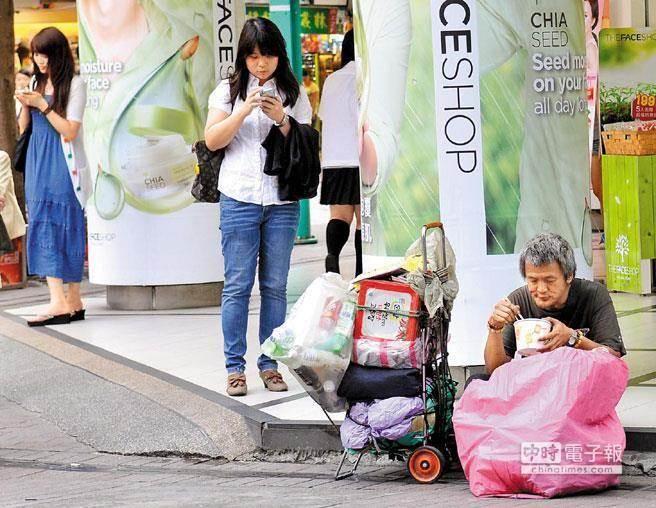 全球掀起的反富浪潮,由於富者愈富、貧者愈貧。(本報系資料照)