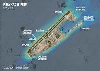 大陸南沙建停機棚 未來軍機恐進駐南海