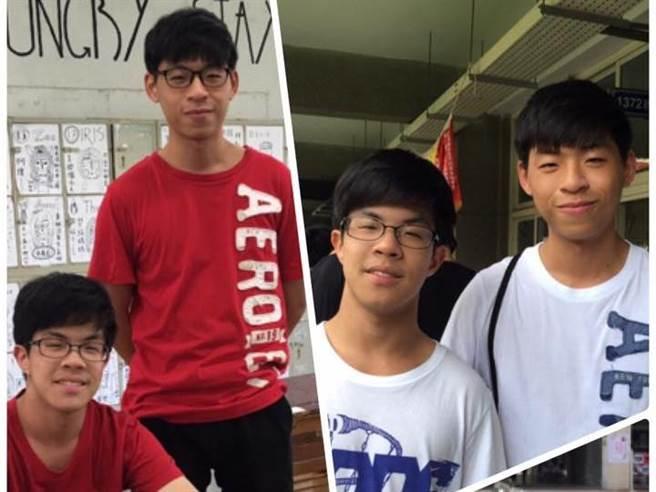 左為弟弟呂峻宇,右為哥哥呂致宇。(圖/讀者提供)
