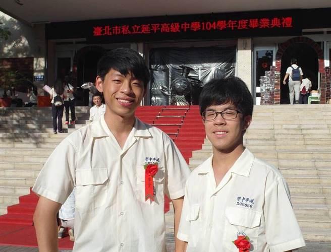 左為哥哥呂致宇,右為弟弟呂峻宇。(圖/讀者提供)
