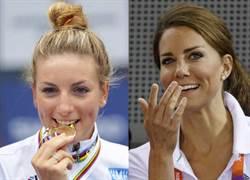 里約奧運》網友公認 法自行車選手長得太像英王妃