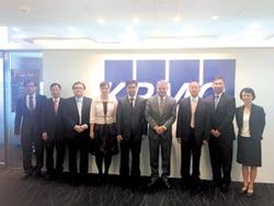 國際會計準則 理事會 主席 參訪KPMG