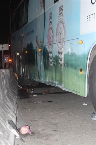 聯結車追撞停路肩國光號釀3死 司機被訴