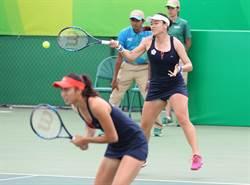 奧運網球女雙 詹家姐妹止於8強