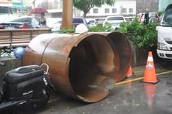 苗栗下水道工程鋼環掉落 砸中3工人 1死2傷