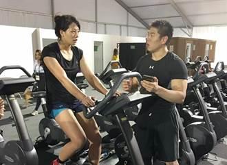 里約奧運》擔心傷到陳玟陵 林銘軒:我比她還累