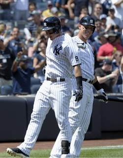 MLB》大聯盟首見 洋基2菜鳥生涯首打席連轟