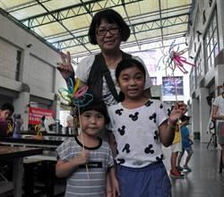 親子DIY創意打包帶風車 激發無限想像