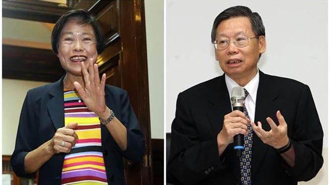 謝文定(右圖)、林錦芳(左圖)退出司法院正副院長提名,蔡總統已同意。(本報系資料照片)