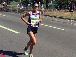 里約蘿蔔》酷熱抽筋 謝千鶴仍創台灣馬拉松紀錄