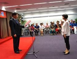 中市新任副市長林依瑩 今天就任