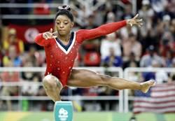 里約奧運》荷美女攔路 體操小天后拜爾斯5金飛了