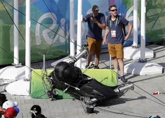 里約奧運》奧運公園攝影機突砸下 七人受傷