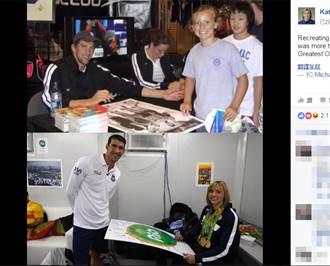里約奧運》蕾德基超人氣!「飛魚」菲爾普斯也想要簽名