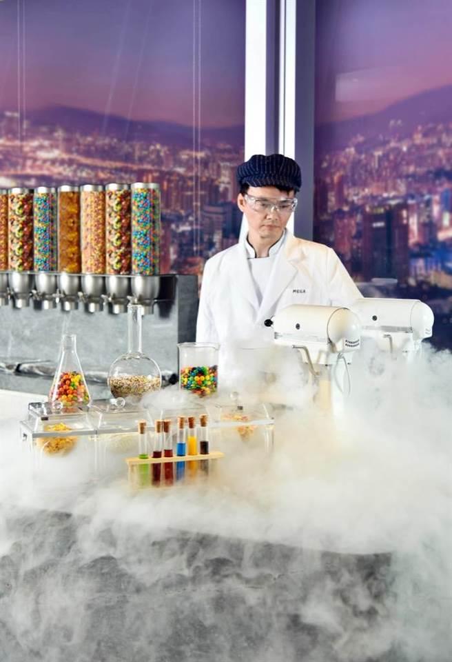 液態氮冰淇淋。(Mega50提供)