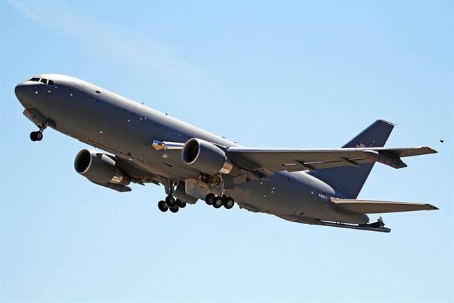 KC-46空中加油機。(美國空軍)