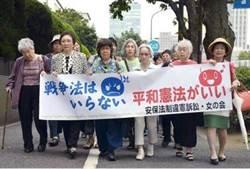 反對新保安法 日本婦女組團告政府要國賠
