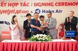 Vietjet越捷宣布與德漢亞航空簽署聯運合作
