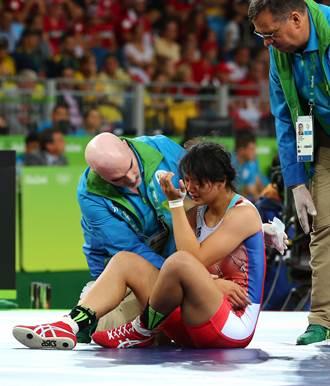 里約奧運》哭完了要振作 陳玟陵奧運後再出發