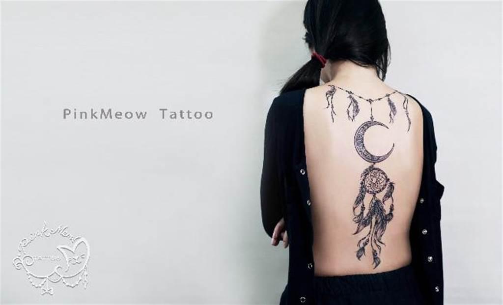 刺青逐漸成為時尚的潮流。(圖/粉紅喵提供)