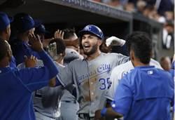 MLB》桑契斯無安打破功 皇家逆轉橫掃老虎