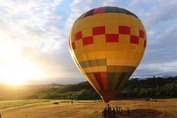 竹市也有熱氣球 周末青青草原升空