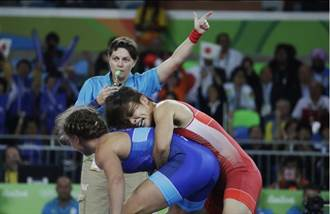 里約奧運》日本女將勇猛 角力1日奪3金