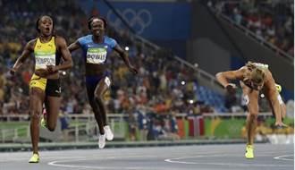 里約奧運》伊蘭湯普森200M再摘金 成為新科風速女王