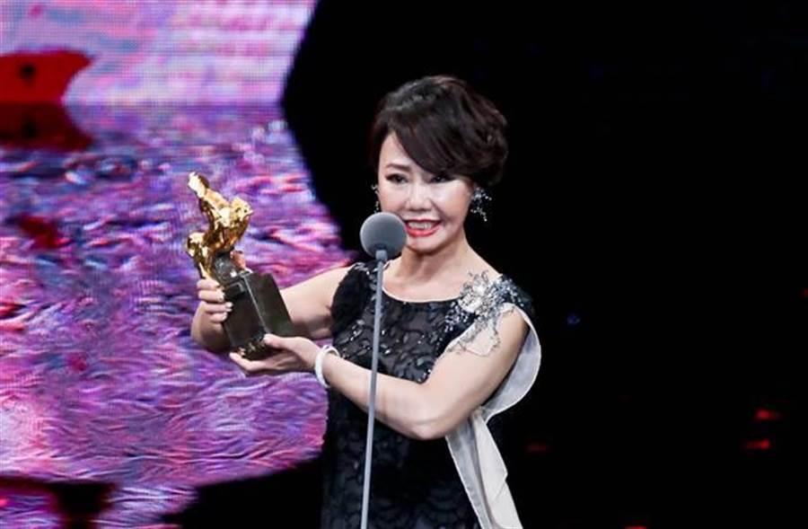 呂雪鳳是最新的金馬獎最佳女配角得主。(圖/本報系資料照)