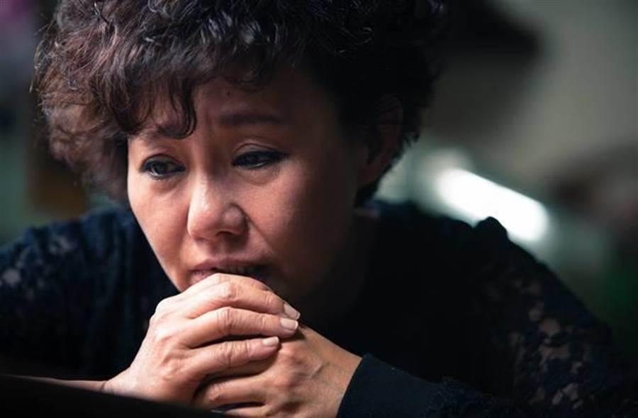 呂雪鳳在《醉.生夢死》中飾演主角老鼠的母親。(圖/醉.生夢死劇照)