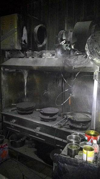餐館廚房起火 客人倉皇逃生