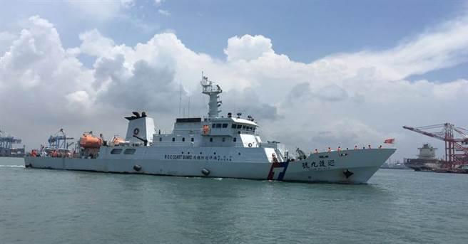 中西太平洋海域巡護任務為期90天,將在9月29日進入斐濟蘇瓦港補給,預計11月16日返台。(海巡提供)