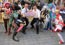 英雄聯盟中市開打 英雄cosplay現身助陣