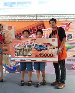 特力屋俯衝車大賽 「落跑專用」劉明楷奪冠