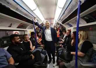 倫敦地鐵首度推出夜間地鐵服務