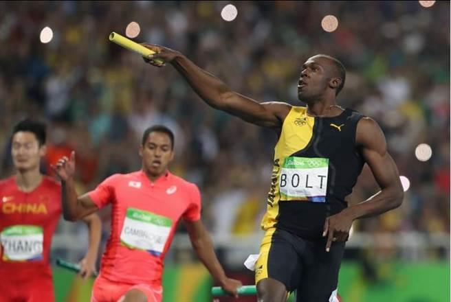 波特今日400接再摘金,奧運生涯9金上演完美謝幕。(美聯社)