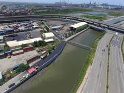 安良港大排新建護岸完工!周邊安全更提升