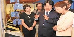 日仙台市長來訪 賴清德當導覽