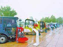 北京環衛車 明年全部油改電