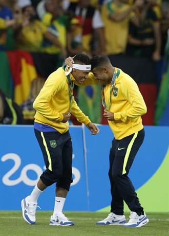 足球奪金才是金 巴西人只要這面就夠了