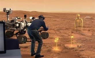 戴上HoloLens眼鏡 火星表面近在眼前