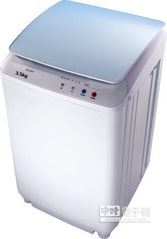 商業情報站-歌林 推單槽小容量洗衣機