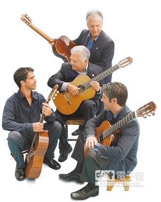 傳奇吉他家族 攜手韓樂團 羅梅洛古典吉他四重奏 登台秀私房耶誕曲