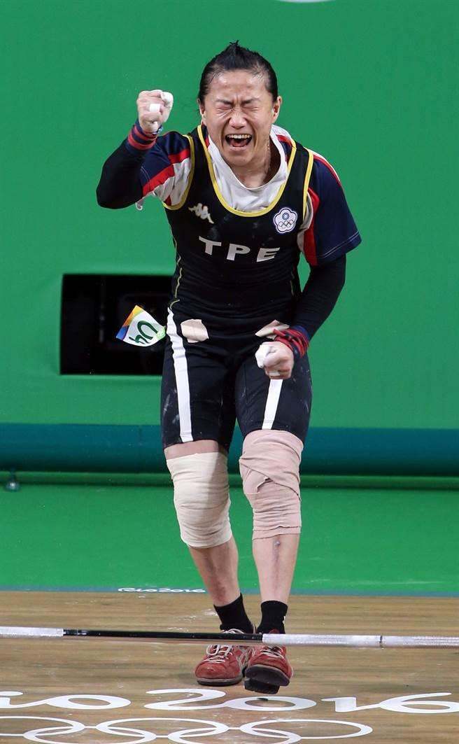 陳葦綾遞補京奧金牌,退休已無遺憾。(本報資料照/陳信翰攝)