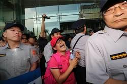 抗議汙名化 上百遊覽車癱瘓交通部
